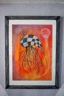 Fantasie, Acrylmalerei, Malerei