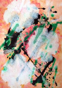 Atelier, Gelb, Dame, Ölmalerei