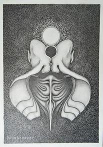 Wahrheit, Dunkel, Zeichnung, Schwarz
