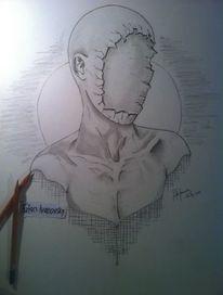 Surreal, Zeichnung, Abstrakt, Identität