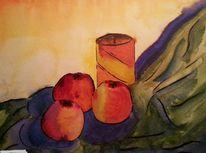 Malerei, Stillleben, Aquarellmalerei, Aquarell
