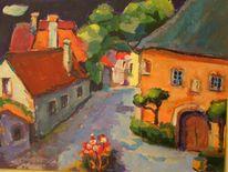 Dorf, Häuser, Burgenland, Platz