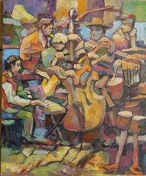 Schaukel, Musik, Farben, Jazz unordnung