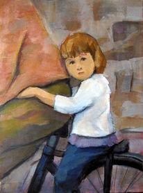 Kinder, Vertrauen, Fahrrad, Übermut