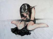 Surreal, Zeichnungl, Schwarz, Horror