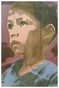 Kids, Nepal, Popart, Siebdruck