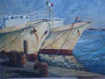 Boot, Italien, Meer, Hafen