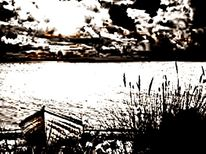 Landschaft abstrakt digital, Digitale kunst, Digital art, Landschaft
