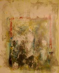 Abstrakt, Tor, Acrylmalerei, Malerei