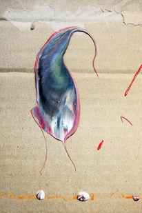 Brett, Fleck, Acrylmalerei, Abstrakt