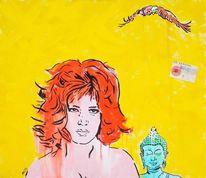 Neo pop art, Michael koslar, Köln, Acrylmalerei