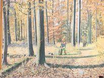 Natur, Herbst, Gelb, Laut