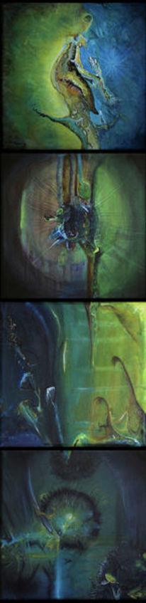 Fantasie, Fragment, Serie, Malerei