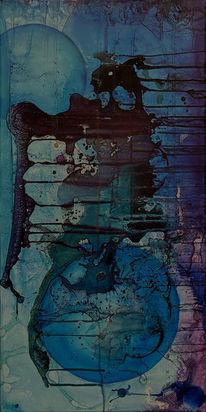 Sein, Fragment, Umbruch, Malerei