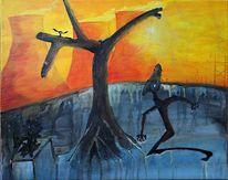 Baum, Traum, Surreal, Skurril