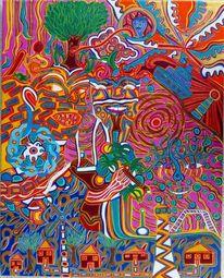Mentalität, Schutzengel, Farben, Vielfalt