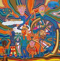 Zusammenhalt, Aufwachen, Bunt, Harmonie