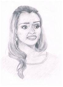 Bleistiftzeichnung, Portrait, Zeichnung, Zeichnungen
