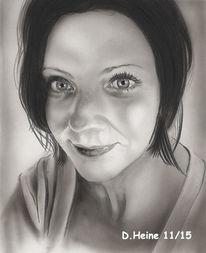 Zeichnung, Acrylmalerei, Bleistiftzeichnung, Airbrush