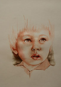 Gesicht, Kind, Zeichnung, Junge
