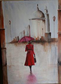 Rain day, Himmel, Malerei, Acrylmalerei