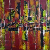 Abstrakt, Farben, Modern, Dekoration