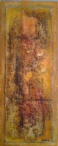 Abstrakt, Dekoration, Marmormehl, Pigmente