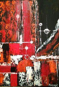 Dekoration, Modern, Acrylmalerei, Farben