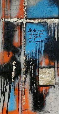 Glaube, Religion, Kreuz, Malerei