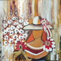 Abstrakt, Magdalena, Zertifiziert, Blumenstrauß
