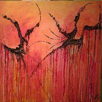 Abstrakt, Farben, Dekoration, Fliegen