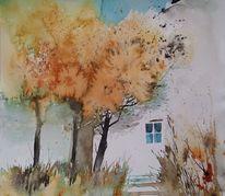 Sommerlich, Baum, Baumallee, Mediterran