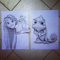 Malerei, Rapunzel