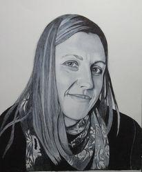 Kuli, Portrait, Zeichnung, Zeichnungen