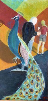Acrylmalerei, Figural, Surreal, Malerei