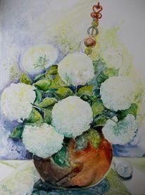 Stillleben, Blumen, Zart, Gartenblume