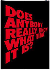 Zeit, Plakatkunst, Gobel, Poesie