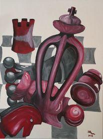 Malerei, Schach, Matt