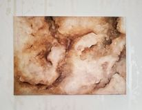 Gedanken, Marmor, Acrylmalerei, Abstrakt