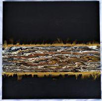 Acrylmalerei, Mischtechnik, Abstrakt