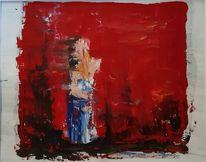 Mann und frau, Rot, Stimmung, Figur