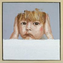 Portrait, Kopf, Kinderportrait, Ölmalerei