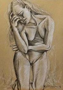 Kummer, Depression, Verzweiflung, Trauer