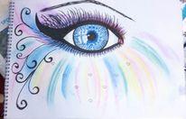 Bunt, Romantik, Fantasie, Augen