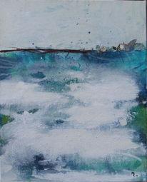 Malerei, Küste, Afrika
