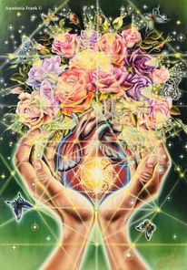 Sacred geometry, Rose, Agni art, Gott