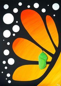 Abstrakt, Natur, Ölmalerei, Malerei