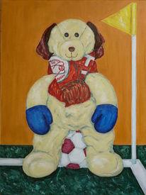 Malerei, Hund, Stillleben, Zulte waregem