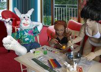 Ostern, Skulptur, Malerei, Puppe