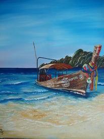 Strand, Landschaft, Wasser, Meer